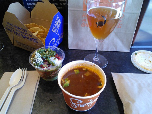 Tortilla Soup and Guacamole Bar