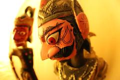 Wajang pop  /  Wajang puppet