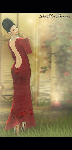 Scarlett Mesh Gown