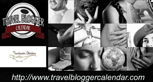 Collague del calendario de los bloggers de viajes 2013