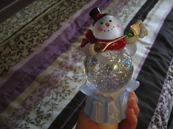 snowman nightlight