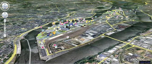 project map, Ile de Nantes (courtesy of SAMOA)