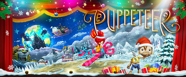Puppeteer: Christmas card