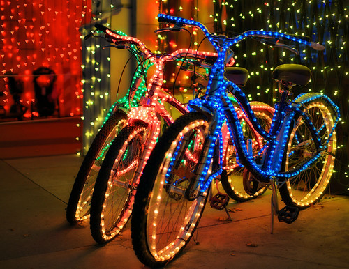 Osborne family bikes, Bay Lake FL (by: Joe Penniston, creative commons)