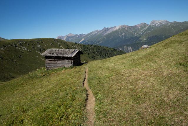 Walserweg, Monstein-Sertig Dörfli