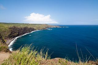 De Noordwest kust van Maui
