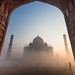 Foggy Morning @ Taj Mahal (This photo was selected by National Geographic editor for Your Shot Daily Dozen on 12 Sep 2016 and won the highest votes.) by wu di 3