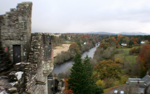 View from Doune Castle
