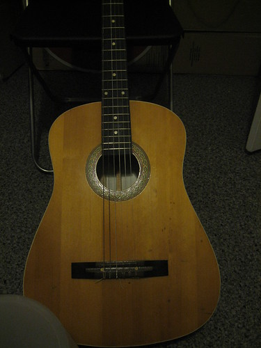 Acoustic Guitar - Public Domain/CC0 photo