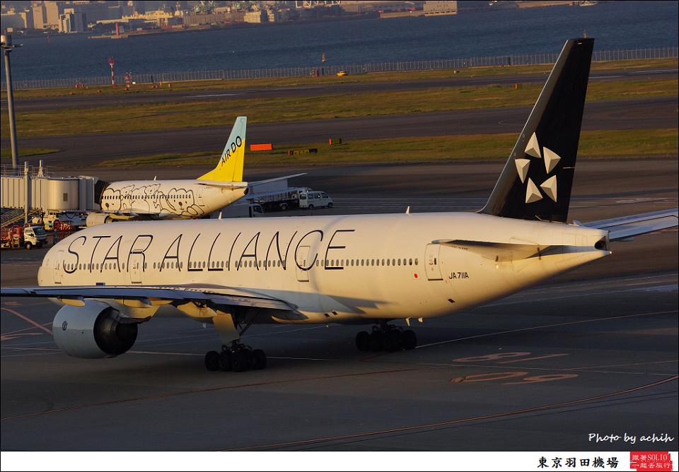 All Nippon Airways - ANA / JA711A / Tokyo - Haneda International