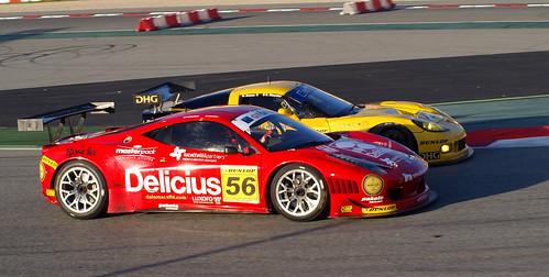 Duelo Chevrolet - Ferrari