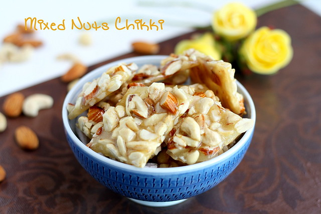 Mixed nuts chikki