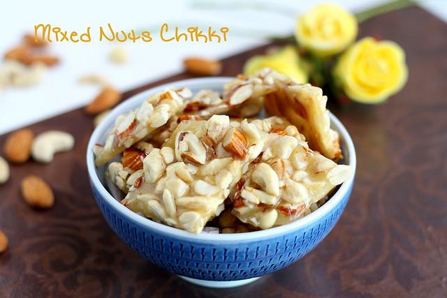 Easy dry fruit chikki recipes