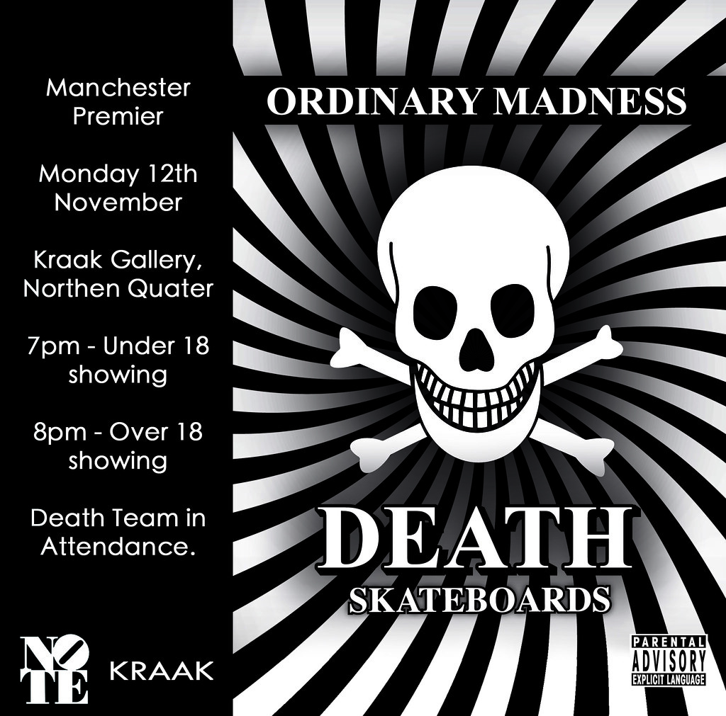 Ordinary Madness Manchester premiere.
