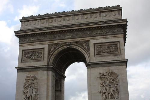 Day 9 - Paris - Arc de Triomphe