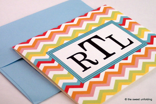 chevron-note-cards