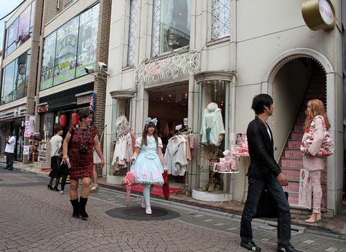 Harajuku shopping