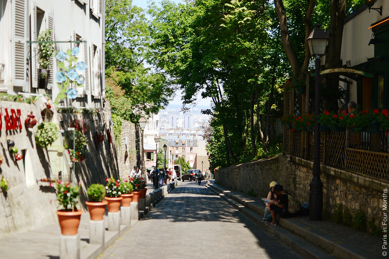 Summer in Montmartre