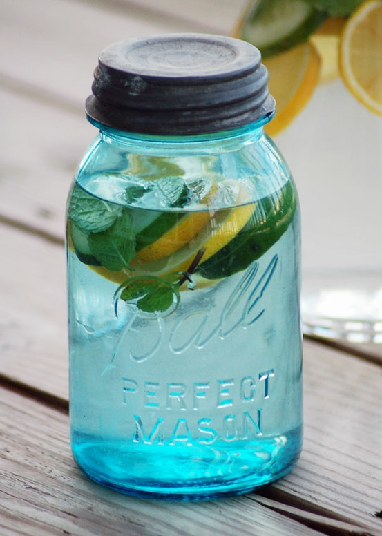detox water – helps you maintain a flat belly, 2 l