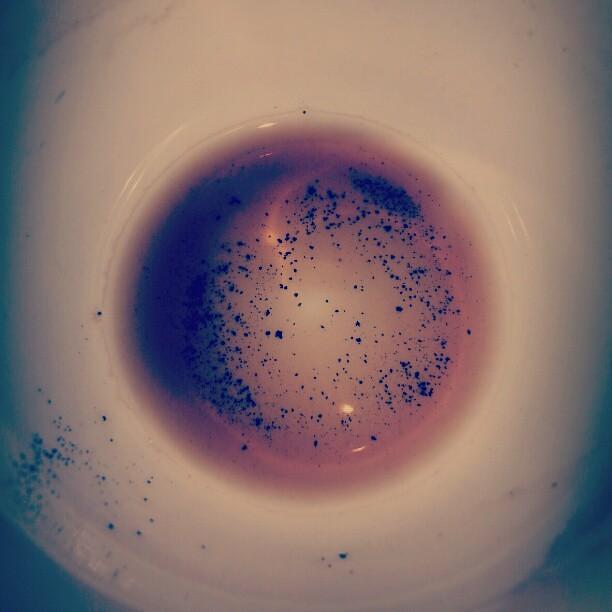 Poso del café. Mojón