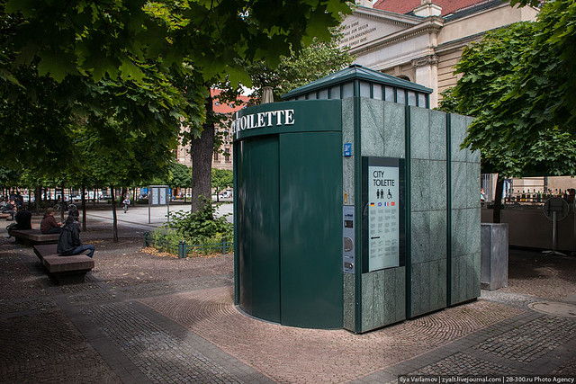 City toilette, Berlin