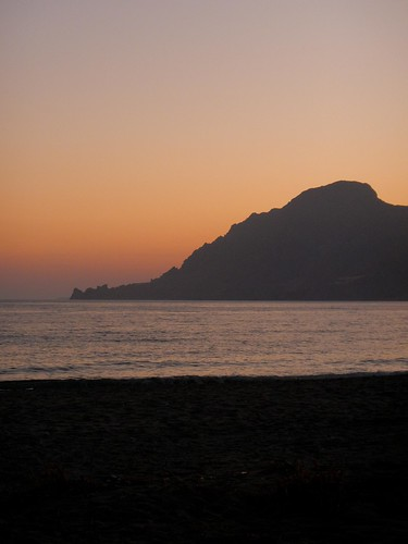 Plakias Beach Sunset