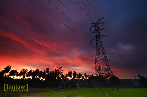 Powerline Sunset 3