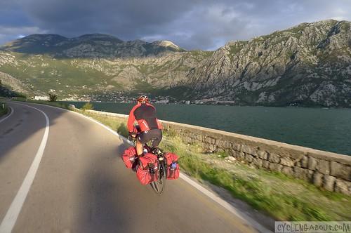 bicycle touring montenegro
