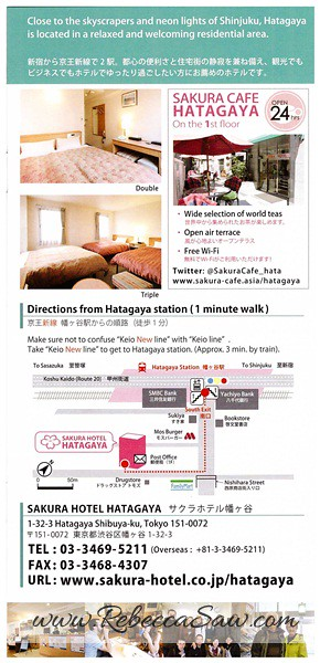 Daily Stay in Tokyo Sakura H-Hostel 5