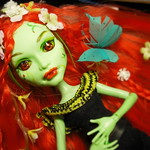 Monster High repaint ver Poison ivy