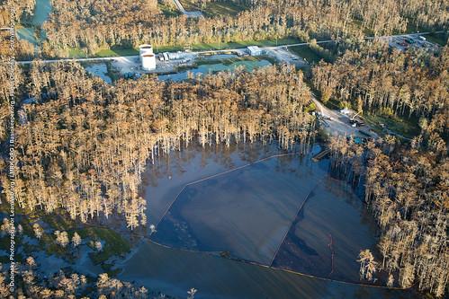 Sinkhole, Bayou Corne, Louisiana