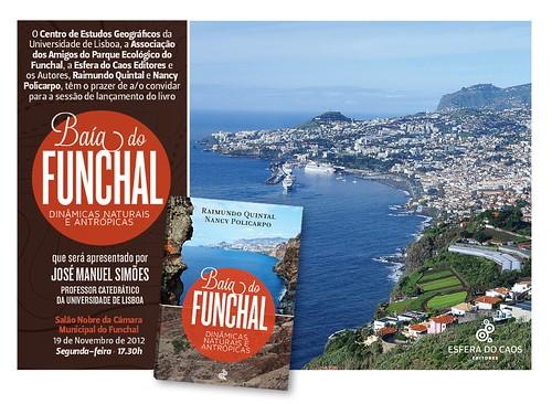 Convite - Lançamento Baía do Funchal