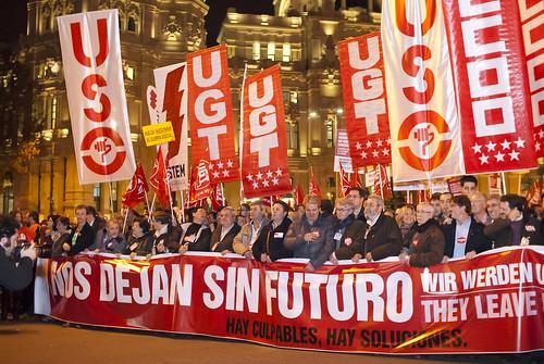 Manifestación del 14N en Madrid