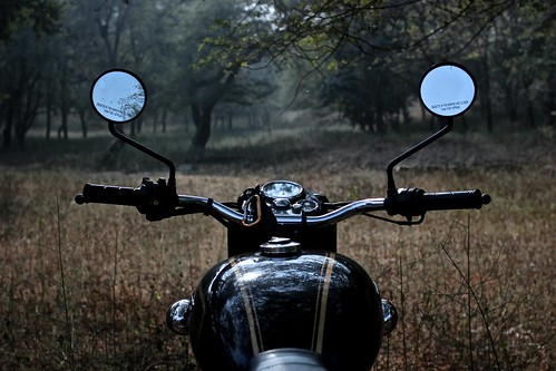 Motorcycling in the heart of India