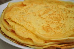 palatschinke(0.0), hotteok(0.0), roti canai(0.0), tortilla de patatas(0.0), meal(1.0), breakfast(1.0), pannekoek(1.0), roti prata(1.0), food(1.0), dish(1.0), cuisine(1.0), pancake(1.0),