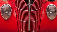 automobile, automotive exterior, vehicle, automotive lighting, red, automotive design, grille, vintage car,