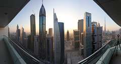 40 floors up on Sheikh Zayed Road