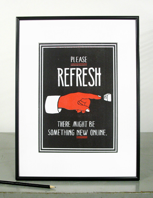 please refresh