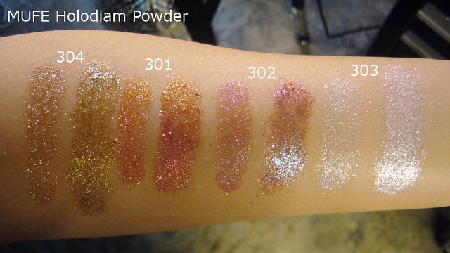 mufe holodiam powder white light
