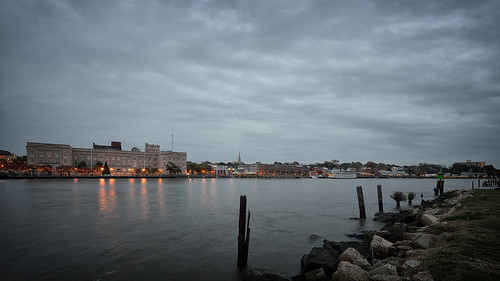 clouds downtown waterfront wilmington d800 wilmingtonnc capefearriver