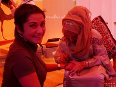 Henna with Aziza at Abu Dhabi Stand