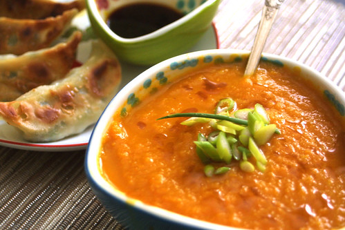 Carrot-Ginger-Miso Soup