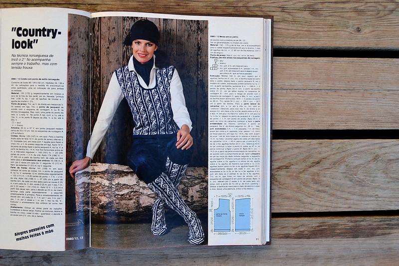 revista Anna | Burda ⎨1982 ⎬