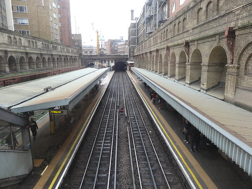 Barbican Station Platforms