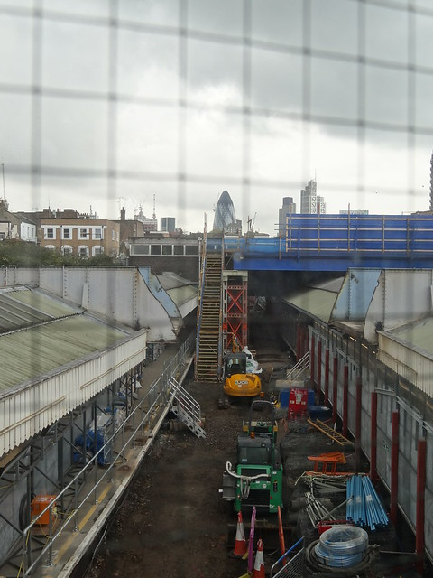 Track Upgrade at Whitechapel