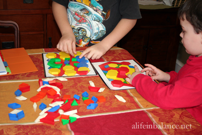 Keep Little Ones Busy During Homework Time