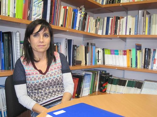 LeyreArrieta, directora del Departamendo de Comunicación de la UD_Infocom