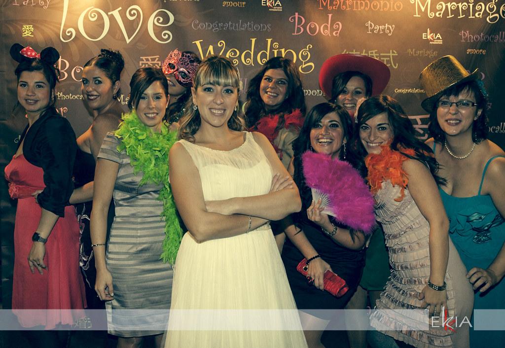 boda en Vitoria con photocall