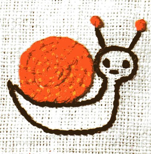 Lis Paludan snail