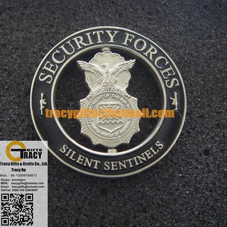 US Air Force SECURITY FORCES SPINNING CUSTOM MILITARY COIN